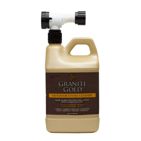 granite gold 64 oz outdoor cleaner gg0041 the