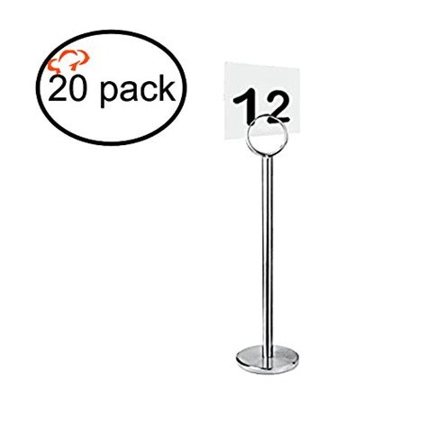 silver table number holders tiger chef silver table number holder table number stands