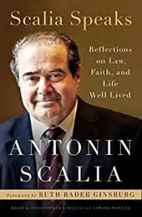 scalia speaks reflections  law faith  life