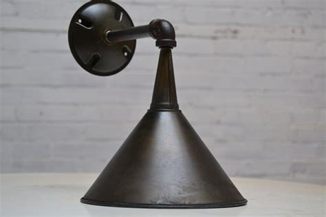 exterior wall sconce industrial light fixture metal