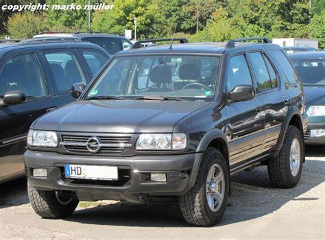 Opel Frontera by Opel Frontera 3 2 V6 4x4 Limited Aufgenommen In Speyer
