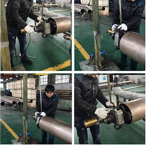 Customized Color Hand Held Pipe Beveler   Pipe Prepping