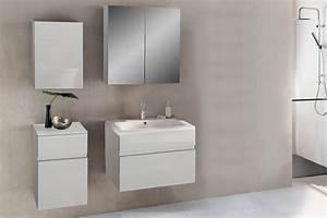 Badezimmermöbel Weiß Hochglanz : sam badezimmerm bel parma 4tlg wei hochglanz 80 cm demn chst ~ Frokenaadalensverden.com Haus und Dekorationen