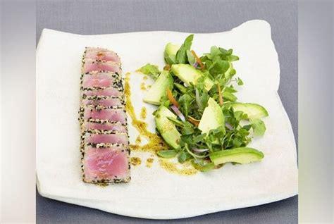 femina fr cuisine thon mi cuit et salade cresson avocat recette à l 39 avocat