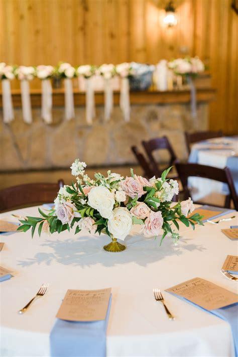blush pink + gold wedding centerpiece elegant wedding