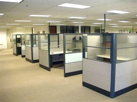 Office Space Knocking Cubicle by Small Used Cubicle Walls For Office Office Space
