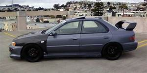 Old 2000 Subaru Impreza Rs - T Seibon Carbon Fiber