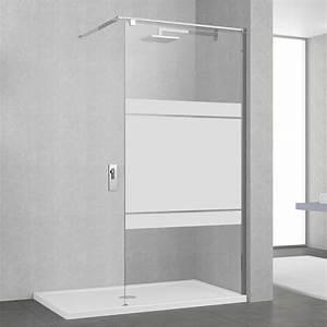 Cabine Douche 3 Parois Vitrées : paroi de douche l 39 italienne cm verre s rigraphi ~ Premium-room.com Idées de Décoration