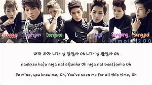 Infinite - Be Mine (내꺼 하자) [Hangul/Romanization/English ...