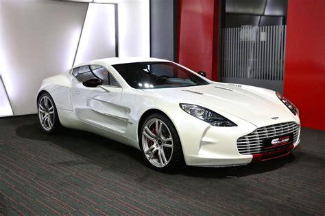 White Aston Martin One-77 For Sale