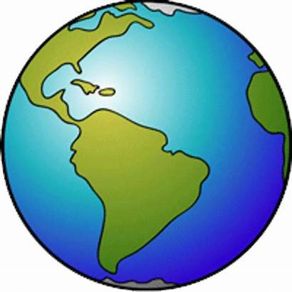 Earth Animated Globe Spinning Animation Clipart Rotating