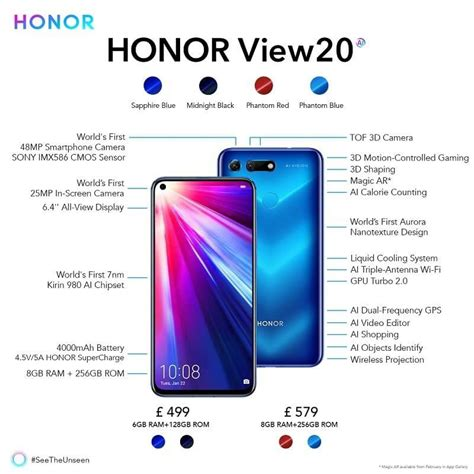honor s best android phone in 2019 honor view20 honor global