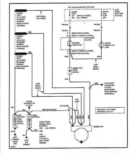 Wiring Diagram For 84 Buick Regal by Wiring Diagrams