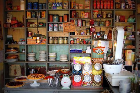 cuisine bistrot saveur d 39 autrefois dans l 39 épicerie bistrot style vintage