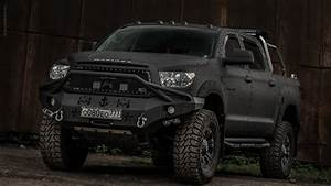 Wallpaper Toyota tundra 4x4 offroad line-x auto Front