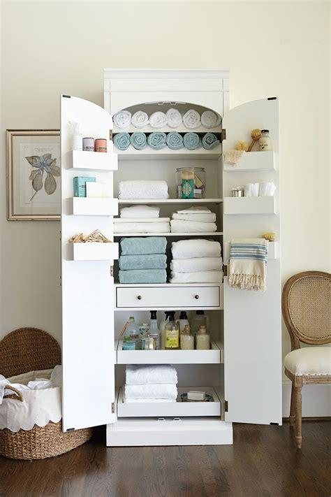 freestanding cabinet  craft linen storage