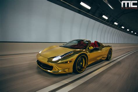 gold ferrari black and gold ferrari 25 wide wallpaper