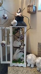 Deko Hauseingang Frühling : pin von marjolein l auf decoratie ostern deko ostern und oster dekor ~ Watch28wear.com Haus und Dekorationen