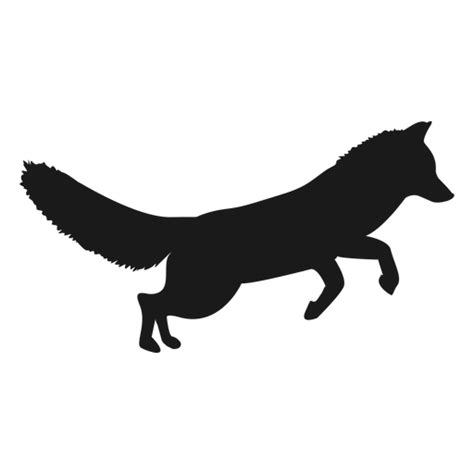 Fox silhouette - Transparent PNG & SVG vector
