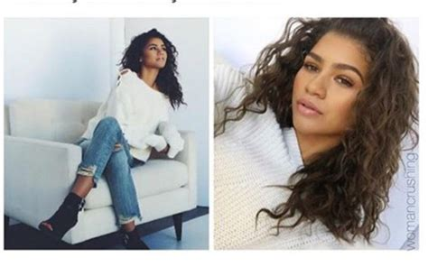 Zendaya, White, Mom Jeans, Blue Jeans, Jeans, Pants