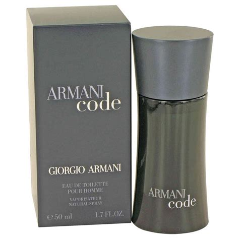 armani code cologne for by giorgio armani eau de toilette spray 1 7 oz