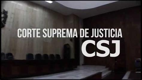 Corte Suprema de Justicia y Corte de Apelaciones YouTube