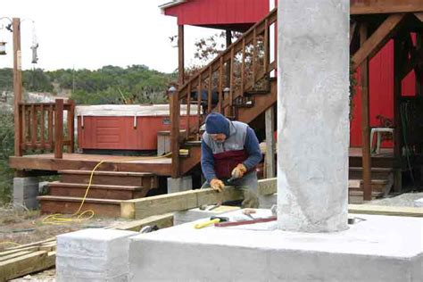 Notching 6x6 Deck Posts by Elevated Building Construction