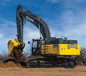 Updated John Deere 470G LC Excavator Primed to Tackle ...