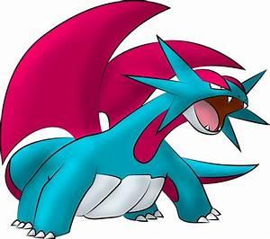 Pokemon Salamence Evolution Images | Pokemon Images