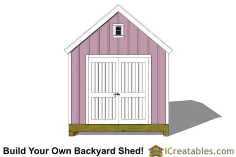 10x20 colonial shed plans icreatables sheds
