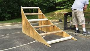 Building A Bmx Ramp How To U0026 Vlog Youtube