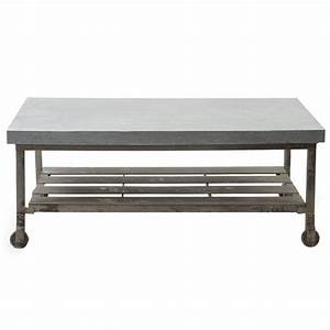 tables the industrial appeal of metal coffee tables With cheap industrial coffee table