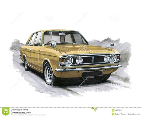 Ford Cortina MkII 1600E Editorial Photography - Image ...