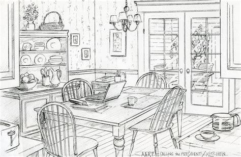 Kuche Zeichnung by Kitchen Drawing Marceladick