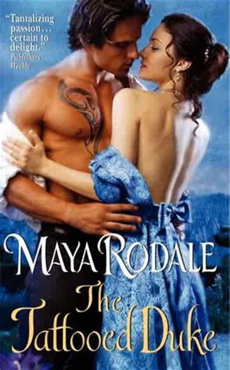 tattooed duke  writing girls   maya rodale