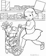 Coloring Pages Grocery Printable Raising Raisingourkids Books Colouring Printing Help Kid Summer Template sketch template