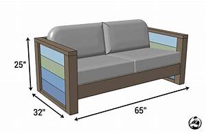 rogue engineer free plans outdoor wood plank loveseat With outdoor sectional sofa building plans