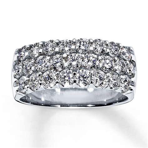anniversary ring 1 1 2 ct cut 14k white gold jared rings diamond anniversary rings