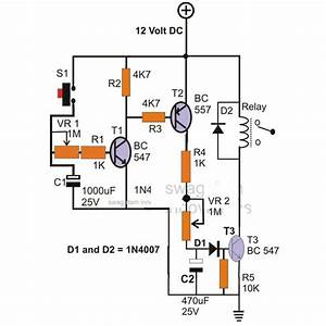 Simple Electronics Project Circuit With Description