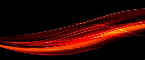 hd background black red light wave pattern wallpaper