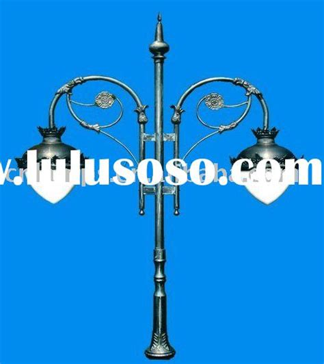 decorative outdoor lighting poles for sale price