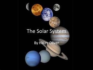 Second Grade Solar System PowerPoint - Pics about space
