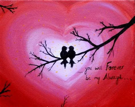 25+ Best Ideas About Love Canvas Painting On Pinterest