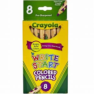Colored Drawing Pencils : Crayola Write Start Colored ...