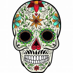 Tete De Mort Mexicaine Dessin : stickers et autocollant t te de mort mexicaine 2 ~ Melissatoandfro.com Idées de Décoration
