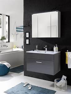 Badezimmermöbel Set Grau : badm bel splash 2 tlg badezimmer set badm bel badezimmerm bel grau ebay ~ Whattoseeinmadrid.com Haus und Dekorationen