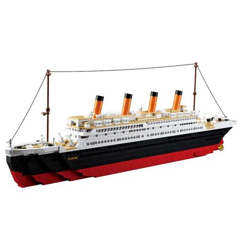 Lego Ship Sinking Titanic by Aliexpress Buy Model Building Kits Compatible With