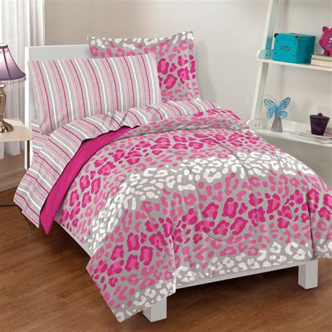 dream factory safari girl bedding comforter set walmart com