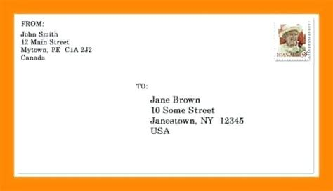 mailing a letter format mailing letter format all about letter exles 32547