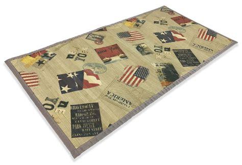 tappeti in bamboo tappeto cucina in legno bamboo america new york misura cm